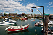 Rockport  Ma Framed Prints - Rockport Harbor Framed Print by Warren Carrington