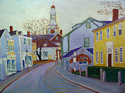 Rockport Paintings - Rockport  Mass by Rae  Smith