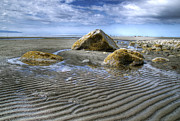 Rocks And Sand Print by Michele Cornelius