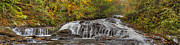 Colorfull Photos - Rocky Cascade by Debra and Dave Vanderlaan