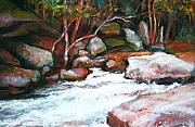 Georgia Pastels - Rocky Creek II by Estelle Schwarz