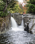 """adirondack Park""  Photo Posters - Rocky Falls in the Adirondack Mountains - New York Poster by Brendan Reals"