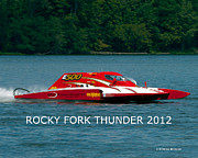 Commission Work Framed Prints - Rocky Fork Thunder 2012 Framed Print by Randall Branham