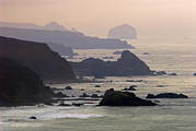 Headlands Photos - Rocky Headlands On The Big Sur Coast by Rich Reid