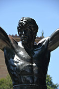 Rocky Statue Photos - Rocky by Luke Pickard