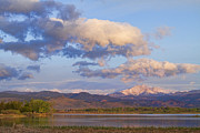 Colorado Landscape Photography Posters - Rocky Mountain Early Morning View Poster by James Bo Insogna