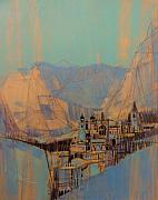 Rocky Mountains Mixed Media - Rocky Mountain Ghost Town by Gary Kaemmer