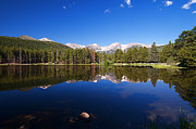Rocky Mountain Lake In A Colorado National Park Print by ELITE IMAGE photography By Chad McDermott