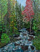 National Park Paintings - Rocky Mountain National Park 2 by Micah Mullen