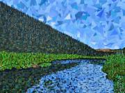 Abstract Landscape Art - Rocky Mountain National Park by Micah Mullen
