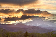 Quality Images Framed Prints - Rocky Mountain Springtime Sunset Framed Print by James Bo Insogna