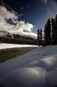 Panoramic Digital Art - Rocky Mountain Winter by Mark Duffy