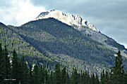 Rocky Mountains Framed Prints Prints - Rocky Mountains British Columbia Canada Print by Jayne Logan