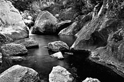 Flowing Water Prints - Rocky Natural Pool Print by J. Solana