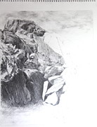 Rocky Outcrop In Snowdonia. Print by Harry Robertson