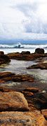 Rough Ridge Prints - Rocky Surf Print by Phill Petrovic