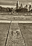 City Scape Metal Prints - Rockys Footprints Metal Print by Jack Paolini