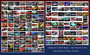 Photomanipulation Photo Prints - Rod Run Retrospective Print by Bill Dutting