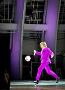 Stewart Photos - Rod Stewart Soccer Ball by April Reppucci