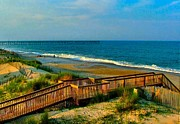 Julie Dant Photo Posters - Rodanthe on the Outer Banks Poster by Julie Dant