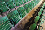 Empty Chairs Framed Prints - Rodeo Arena Seating Framed Print by Jeremy Woodhouse