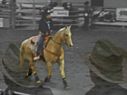 Bronc Prints - Rodeo Royalty III Print by Al Bourassa