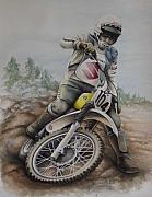 Suzuki Paintings - Rodger DeCoster by Harry Miller