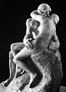 1886 Prints - Rodin: The Kiss, 1886 Print by Granger