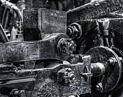 Machinery Photos - Rods of Steel by Scott  Wyatt