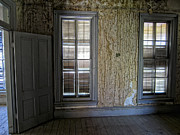 Bannack Montana Prints - Roe - Graves House Interior - Bannack Ghost Town Print by Daniel Hagerman