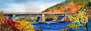 Roebling Aqueduct Bridge Print by Paul E Temple