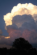 Thunderheads Art - Roiling Thunderheads by Shawn Shea