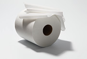 Toilet Paper Framed Prints - Roll Of Toilet Paper Framed Print by Nicholas Eveleigh