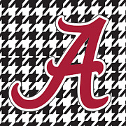 Roll Tide Framed Prints - Roll Tide Mini Canvas Framed Print by Greg Sharpe