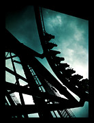 Roller Coaster Photo Framed Prints - Roller Coaster Framed Print by Joe Hickson