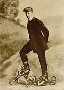 Roller Skating Print by Padre Art