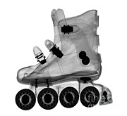 Roller Skates Photos - Rollerblade Boot by Ted Kinsman