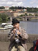 Charles Bridge Originals - Rollin or the River by Charles  Ridgway