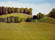 East Tennessee Paintings - Rolling Hills by Mark Froehlich