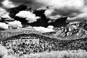 Red In Black Prints - Rolling In Sedona Print by John Rizzuto