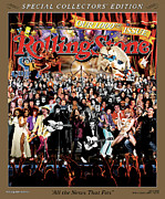 Rollingstone Posters - Rolling Stone Cover - Volume #1000 - 5/18/2006 - RS 1000th Issue Poster by Michael Elins