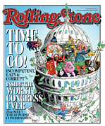 Congress Posters - Rolling Stone Cover - Volume #1012 - 11/2/2006 - Worst Congress Poster by Robert Grossman