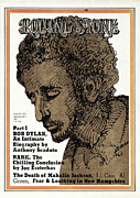 Bob Photos - Rolling Stone Cover - Volume #103 - 3/2/1972 - Bob Dyla by Milton Glaser