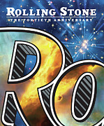 40th Posters - Rolling Stone Cover - Volume #1039 - 11/15/2007 - 40th Anniversary Poster by Chip Kidd