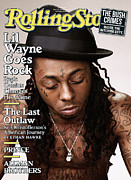 Covers Prints - Rolling Stone Cover - Volume #1076 - 4/16/2009 - Lil Wayne Print by Peter Yang