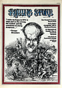 Featured Art - Rolling Stone Cover - Volume #110 - 6/8/1972 - George McGovern by Edward Sorel