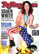 Featured Prints - Rolling Stone Cover - Volume #1100 - 3/18/2010 - Shaun White Print by Richardson Terry