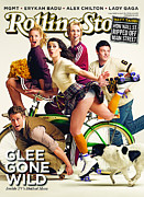 Rock N Roll Posters - Rolling Stone Cover - Volume #1102 - 4/15/2010 - Cast of GLEE Poster by Seliger Mark
