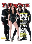 Peas Prints - Rolling Stone Cover - Volume #1103 - 4/29/2010 - Black Eyed Peas Print by Seliger Mark