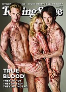 Rock N Roll Posters - Rolling Stone Cover - Volume #1112 - 9/2/2010 - Cast of True Blood Poster by Rolston Matthew